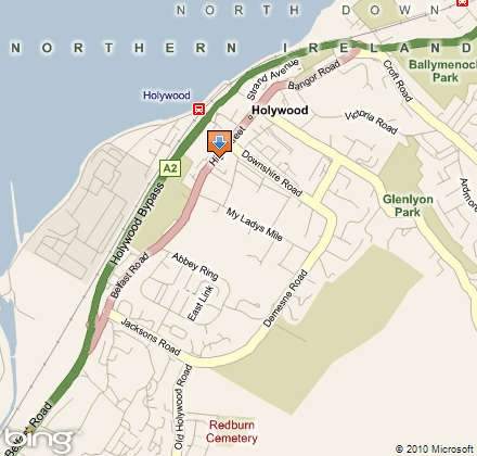 Holywood Family Trust location map