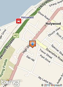 Location map for Holywood Family Trust